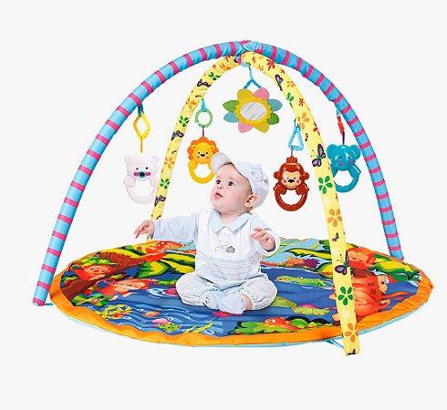 Tapete Ginásio De Atividades Do Bebe Selva Divertida - Yes toys