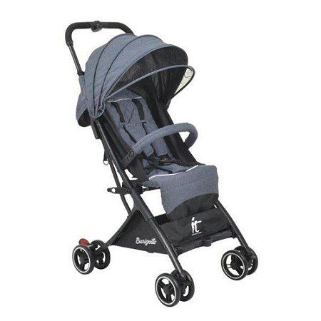 Carrinho de Bebê Compacto IT Cinza - Burigotto