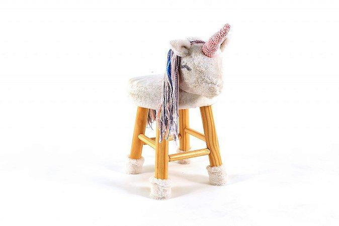 Banquinho Mel a Unicornio - Bloomy