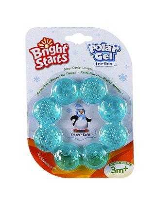 Mordedor Circular de Gel Polar Azul - Bright Starts