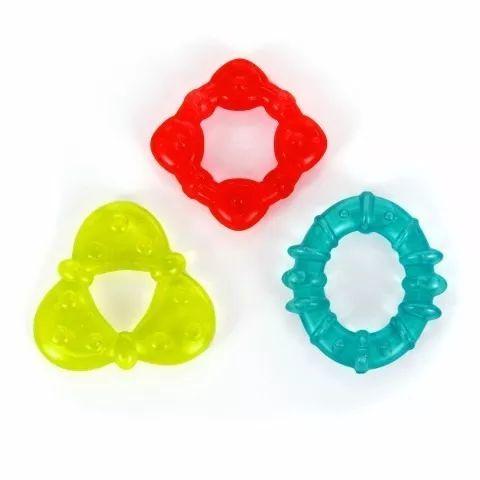 Mordedores com água formas geométricas 2 - Bright Starts