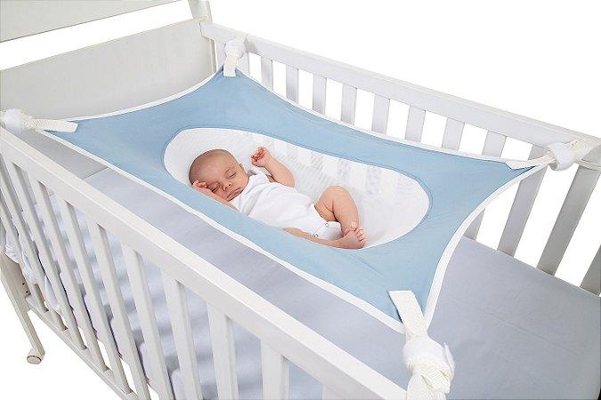 Cama Segura Primeiro Sono Azul - Baby Pil