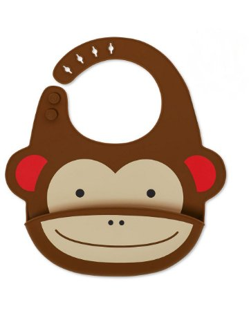 Babador de Silicone Zoo Monkey - Skip Hop