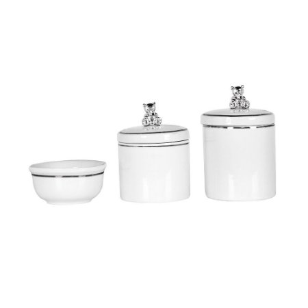 Kit Higiene 3PC Urso - Modali