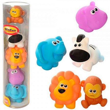 Brinquedo para Banho Amiguinhos da Selva - WinFun