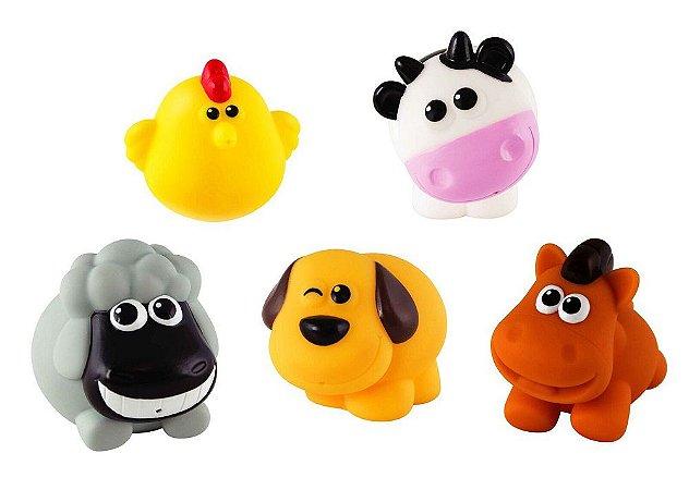 Brinquedo para Banho Amiguinhos da Fazenda - WinFun