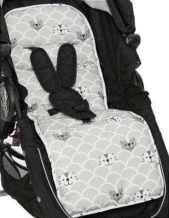 Protetor de Carrinho de Bebê Gatinhos - Momis Petit