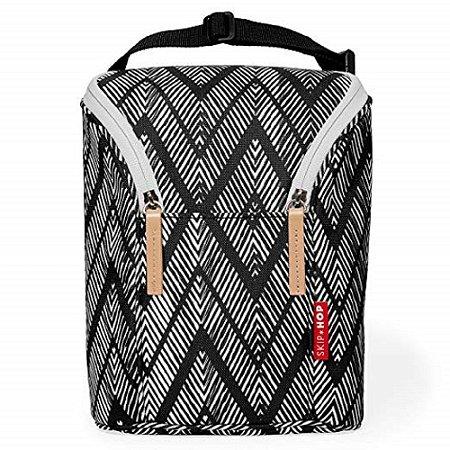 Bolsa Térmica para Mamadeira Double Bottle Bag Zebra - Skip Hop