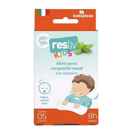 Adesivo para Alívio e Conforto Nasal Resliv 5 Un - Babydeas