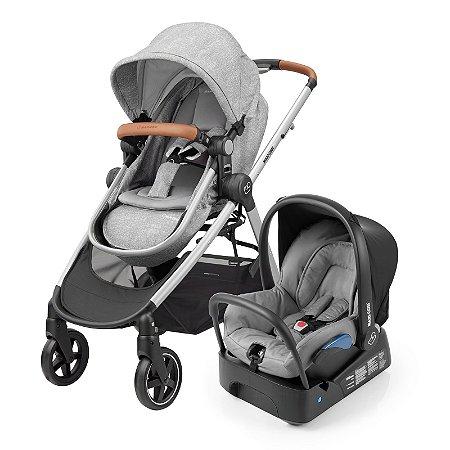 Carrinho de Bebê Travel System Anna Nomad Grey - Maxi Cosi