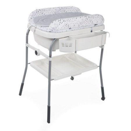 Banheira Cuddle Bubble Cool Grey - Chicco