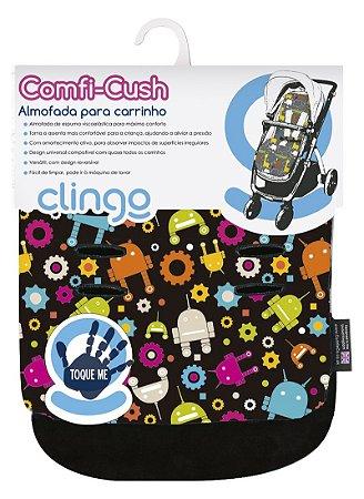 Colchão para Carrinho Comfi Cush Robots - Clingo