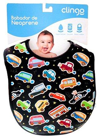 Babadores de Neoprene Cars - Clingo