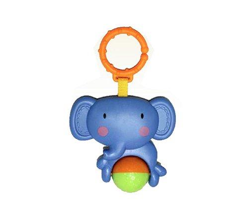 Chocalho Elefante Bolinha - Dican
