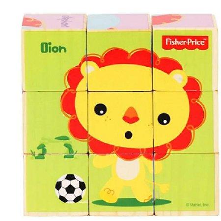 Brinquedo de Atividades Quebra Cabeça Bichinhos Brincalhões - Fisher Price