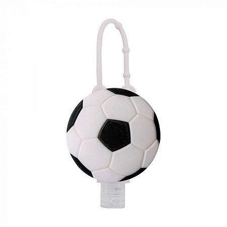 Álcool em Gel Hidratante com Holder 30 ML Bola De Futebol  - Baby Bath
