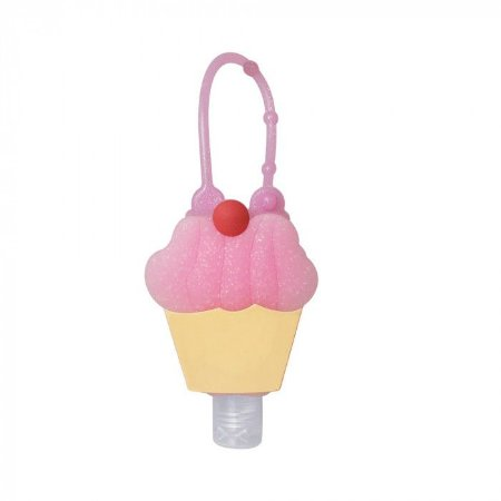 Álcool em Gel Hidratante com Holder 30 ML CupCake - Baby Bath