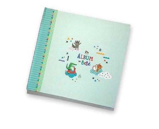 Album do Bebê Bichinhos Verde - Coloré