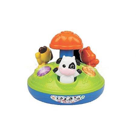 Brinquedo Gira-Gira Amigos Animais - Winfun