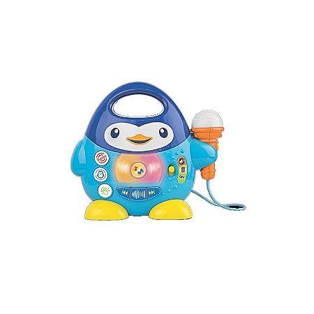 Brinquedo de Atividades Pinguim Musical - Winfun