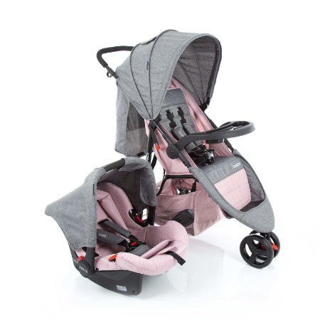 Travel System Jetty DUO Rosa Mescla - Cosco