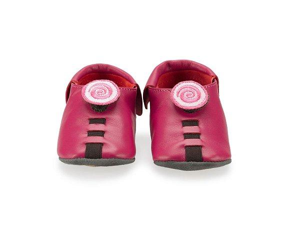 Sapatinho para Bebê Espiral Rosa Pink 0 a 24 meses - Shupeas