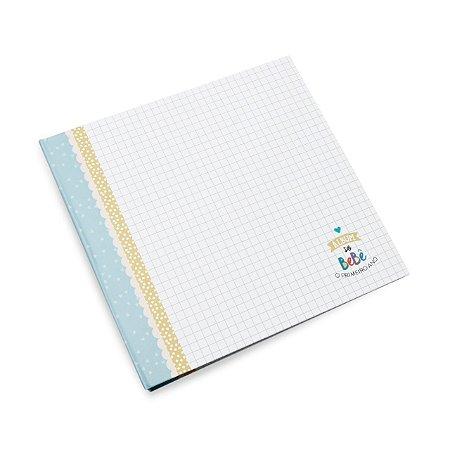 Álbum do Bebê Azul Marinho - Coloré