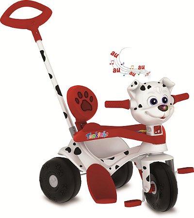 Triciclo Tonkinha Doggy Passeio & Pedal - Bandeirante