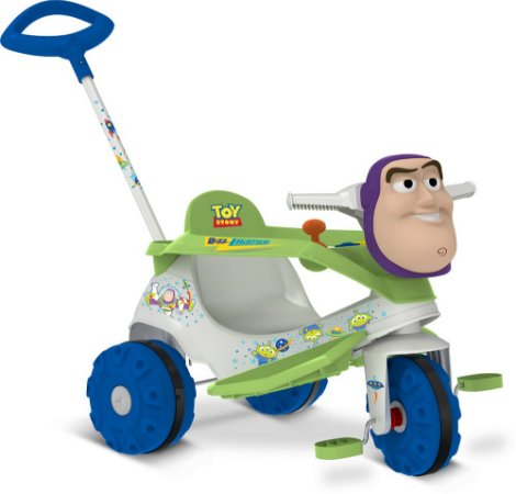 Triciclo Velobaby Passeio & Pedal Buzz Lightyear - Bandeirante