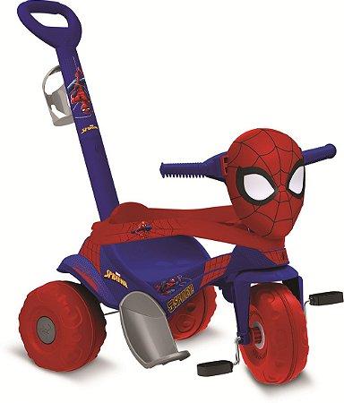 Triciclo Motoka Passeio & Pedal Homem Aranha - Bandeirante
