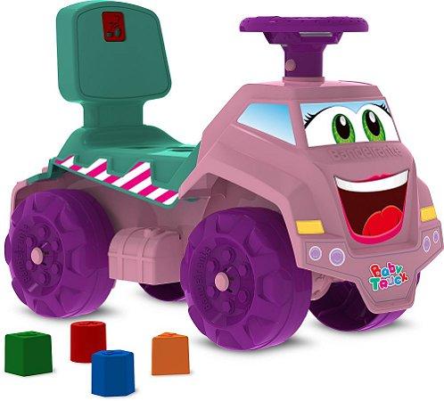 Caminhão Rosa Passo a Passo - Bandeirante