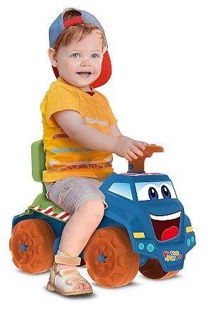 Caminhão Azul Passo a Passo - Bandeirante