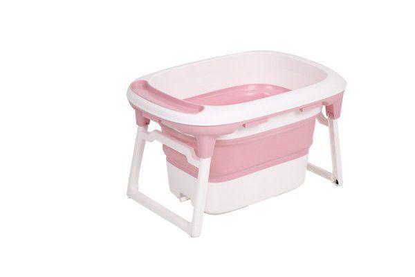 Banheira de Plástico Média Rosa - Baby Pil