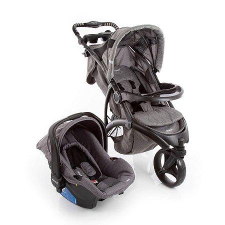 Carrinho de Bebê Travel System Off Road Grey Cold - Infanti