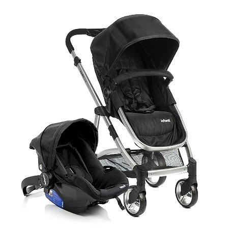 Carrinho de Bebê Conforto Epic Lite DUO Onyx - Infanti