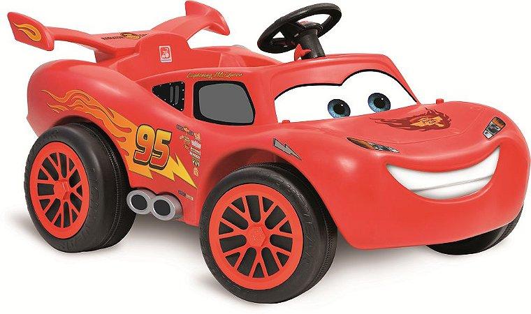 Mini Carro Relâmpago Mcqueen Cars Pedal - Bandeirante