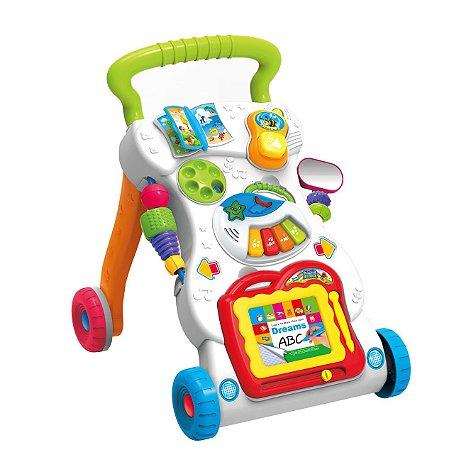 Andador Infantil com Acessório Indicador 6m+ - Multikids