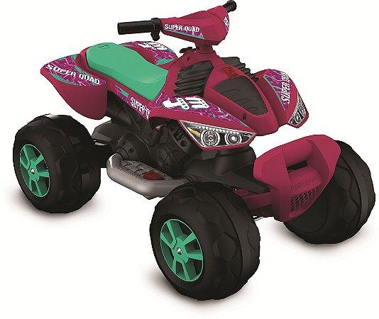 Quadriciclo Elétrico 12V Rosa - Bandeirante