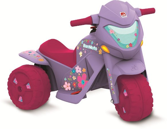 Moto Elétrica Banmoto G2 Lilás - Bandeirante