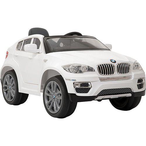 Carro Elétrico BMW Branca 6V - Bandeirante