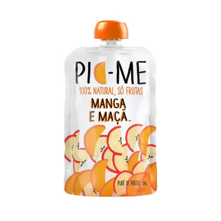 Purê de Frutas Manga e Maça 100g - Pic-Me