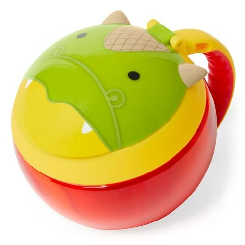 Potinho de Lanche Snack Skip Hop Linha Zoo Dragão