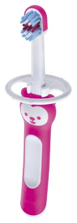 Escova Dental Baby's Brush Rosa 6m - Mam