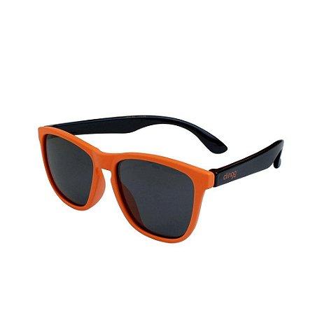 Óculos Escuros Laranja e Preto - Clingo
