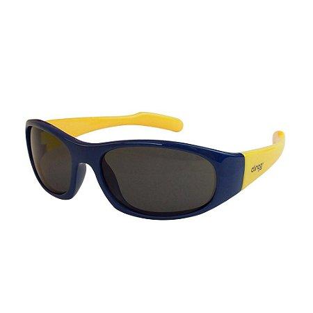 Óculos Escuros Azul e Amarelo - Clingo