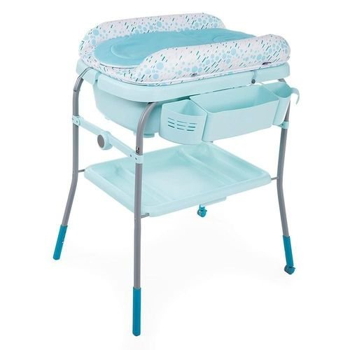 Banheira Cuddle Bubble Dust Green - Chicco