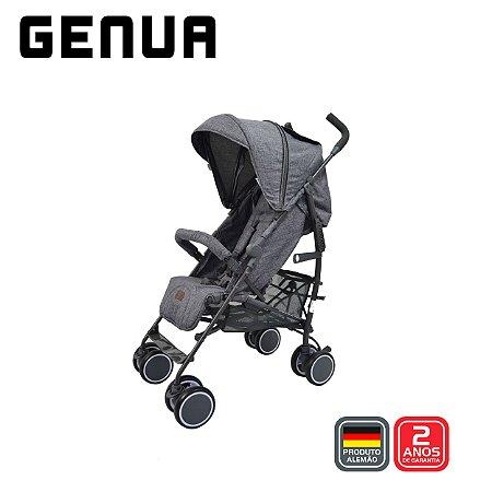 Carrinho de Bebê Guarda Chuva Genua Woven Piano - ABC Design