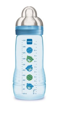 Mamadeira Azul Easy Active Fashion Bottle 320ml - Mam