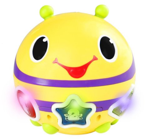 Brinquedo Roll & Chase Bumble Bee - Bright Starts