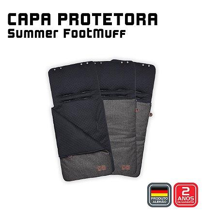 Capa Protetora Summer Footmuff Asphalt - ABC Design